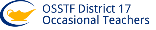 OSSTF District 17 Occasional Teachers
